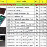 Báo giá các loại led ma trận p10 1 màu